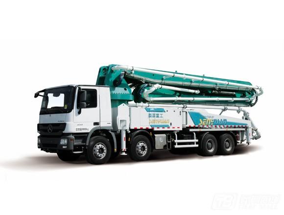 森源重工SMQ5330THB混凝土泵车