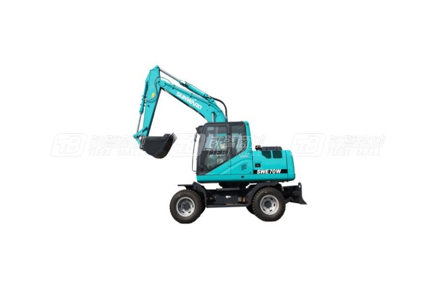 山河智能SWE70W轮式挖掘机