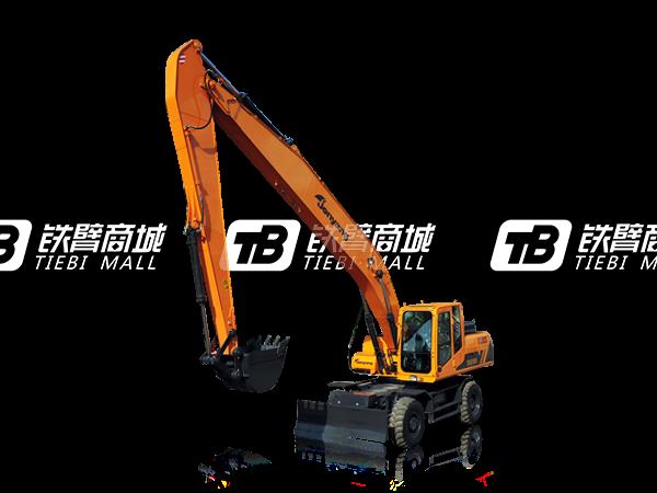 詹阳重工JYL621ELD(加长臂)轮胎式挖掘机