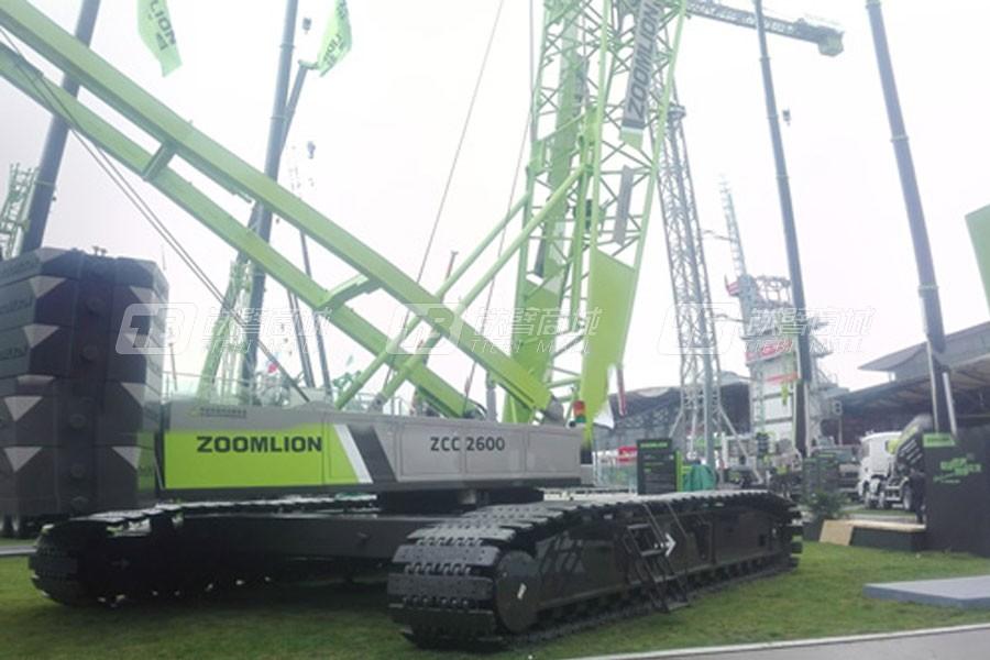 中联重科ZCC2600履带式起重机