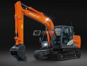 原装日立ZX130-5A履带挖掘机