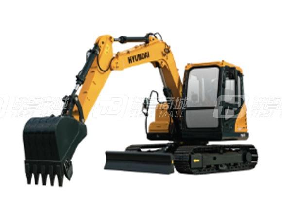 现代R75DVS履带挖掘机