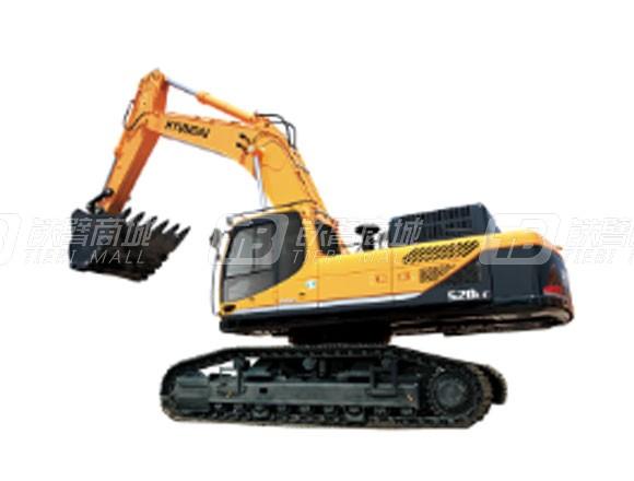 现代R520L-9VS履带挖掘机