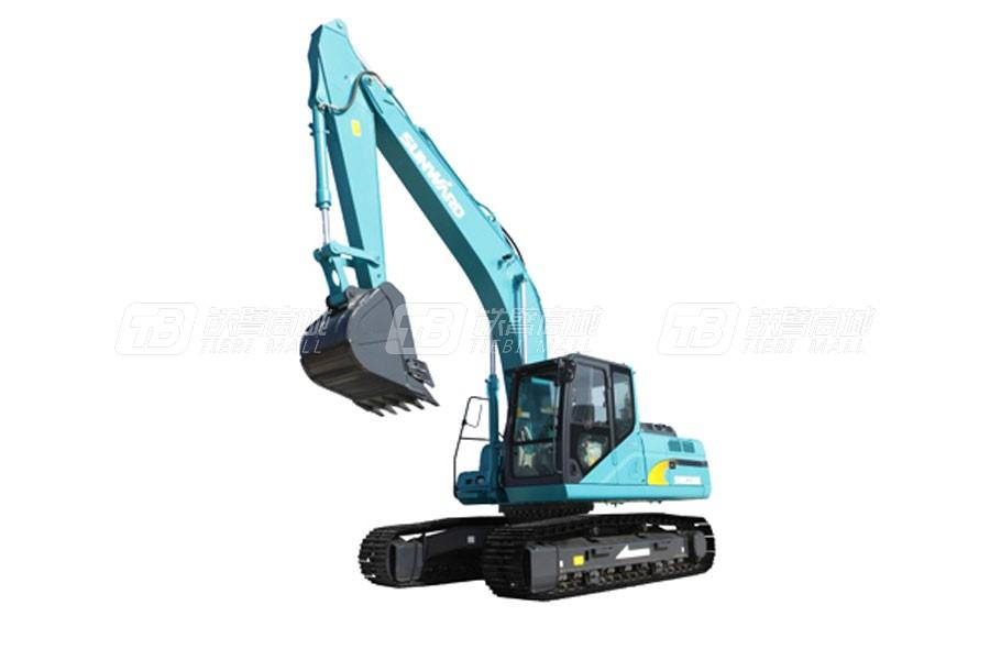 山河智能SWE155E-3履带挖掘机