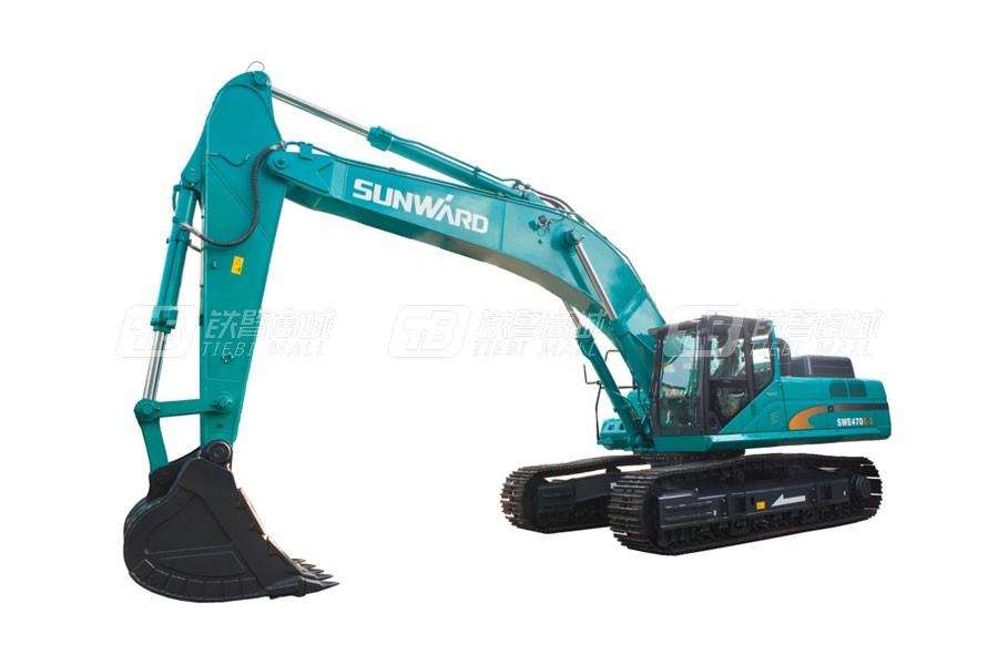 山河智能SWE500E-3履带挖掘机