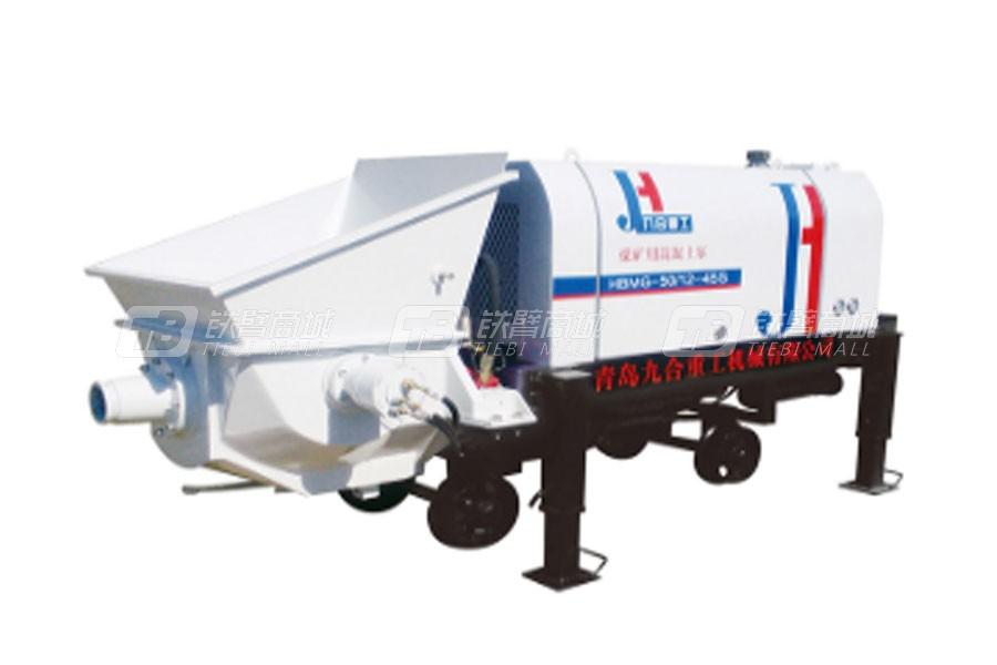 九合重工HBMG-50/12-45S矿用混凝土输送泵