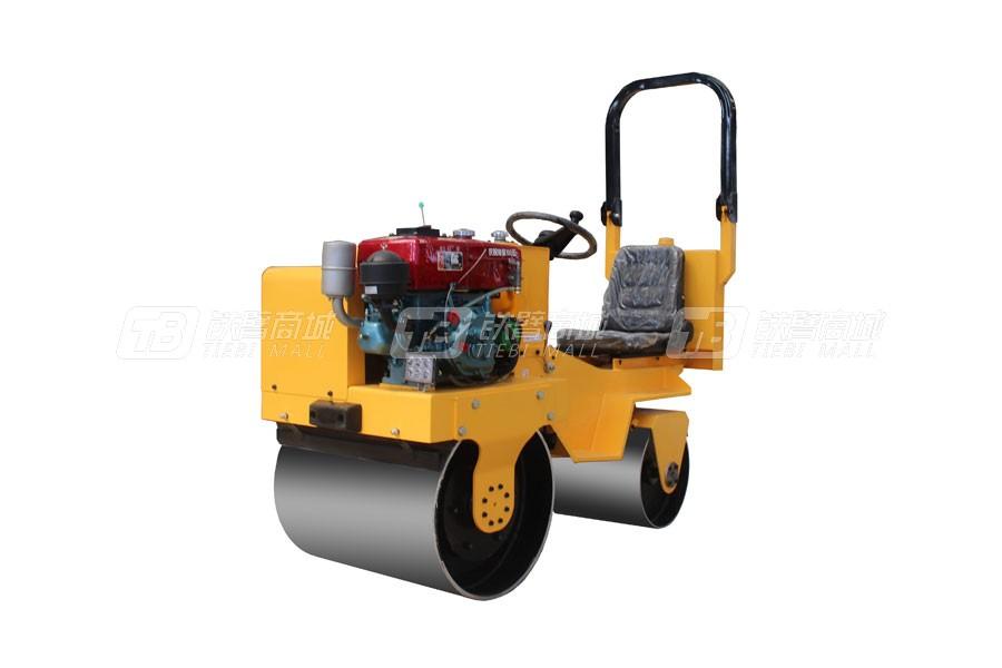 宜迅机械850水冷双钢轮压路机