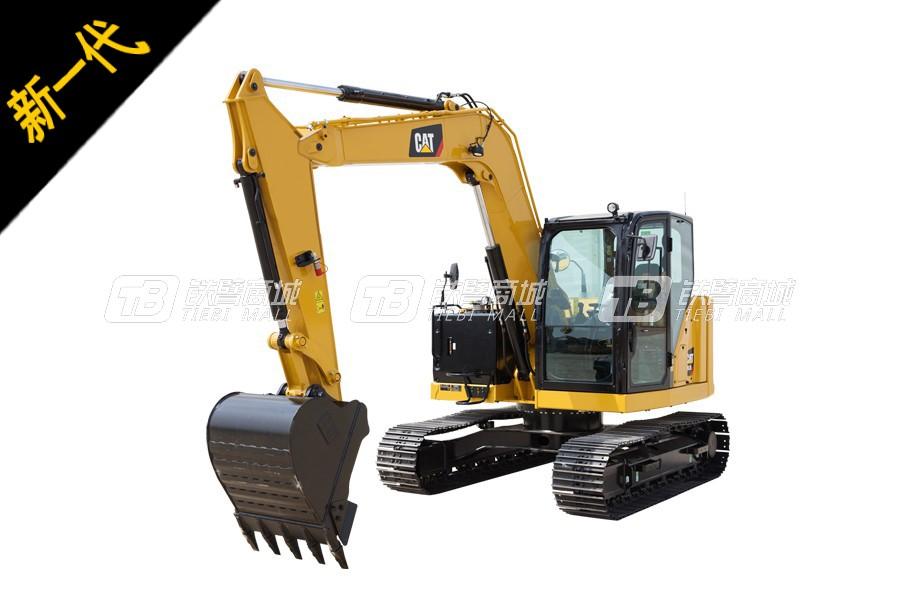 卡特彼勒新一代CAT<sup>®</sup>308.5迷你型挖掘机