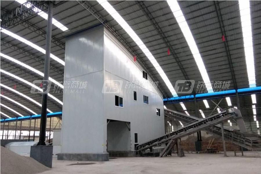 中联重科ZSL100_100t/h楼式机制砂生产线