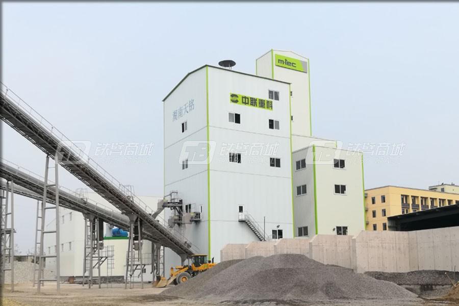 中联重科楼式机制砂生产线口碑