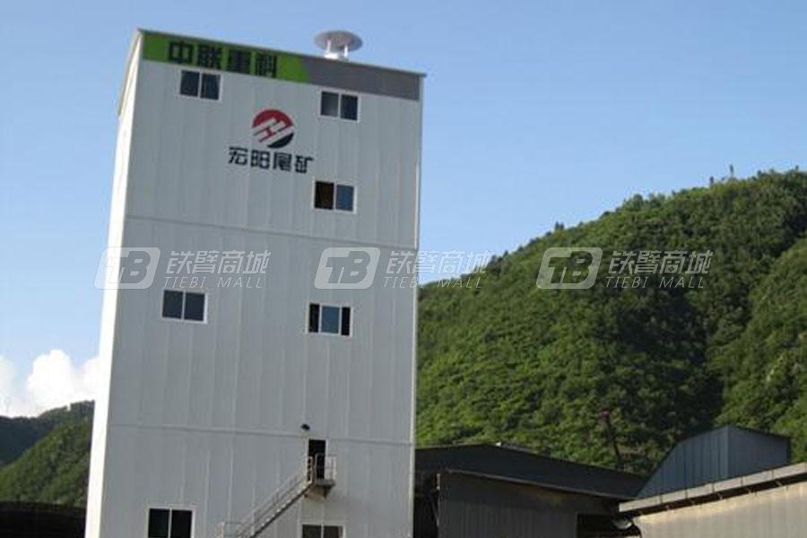 中联重科ZSL150_150t/h楼式机制砂生产线