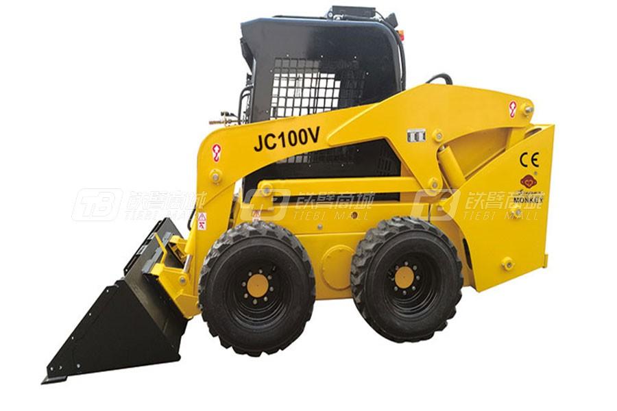 鲁岳JC100V滑移装载机