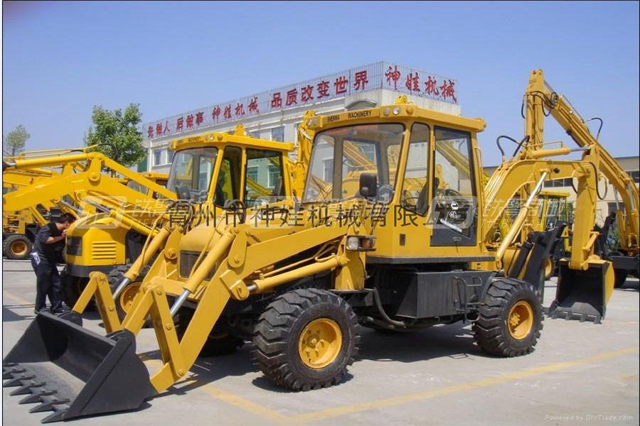 神娃机械SZ10-15挖掘装载机