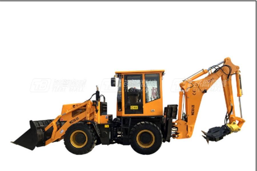 全工机械WZ30-25C挖掘装载机