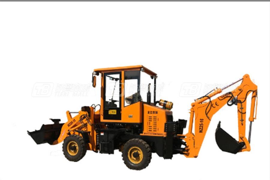全工机械WZ25-16C挖掘装载机