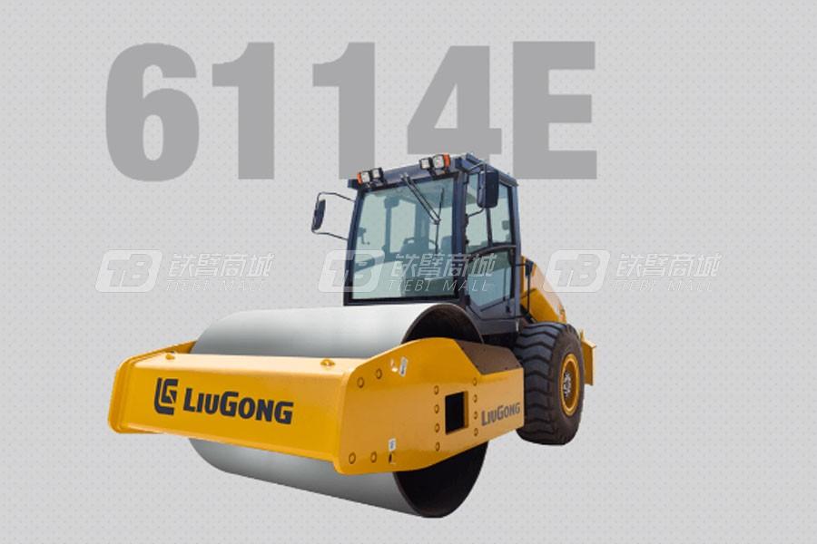 柳工6114E单钢轮压路机