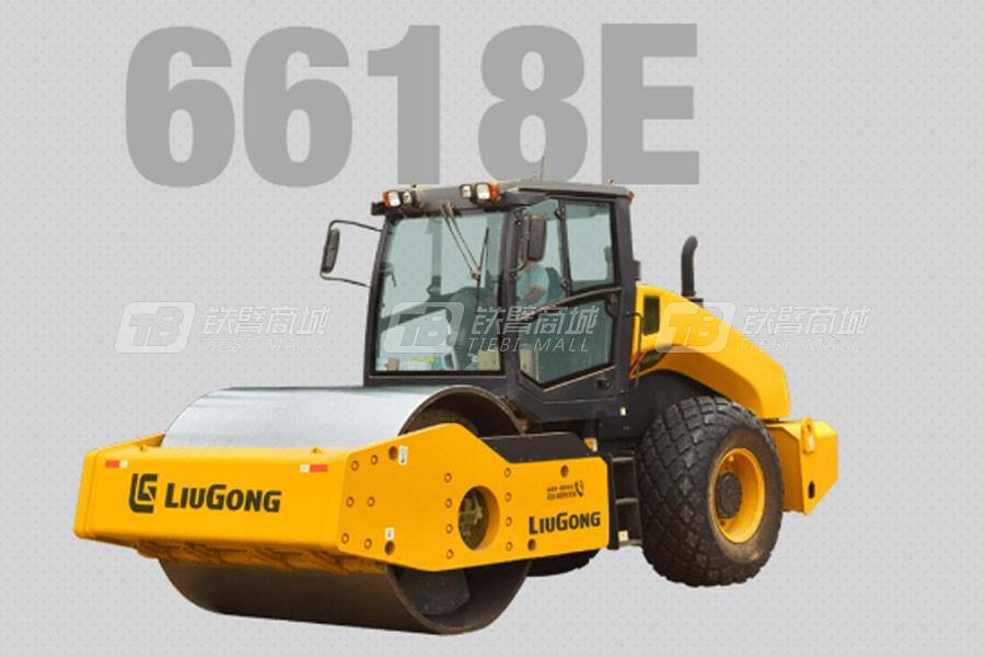 柳工6618E单钢轮压路机