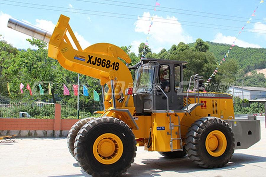 厦金XJ968-18J卷钢叉装车