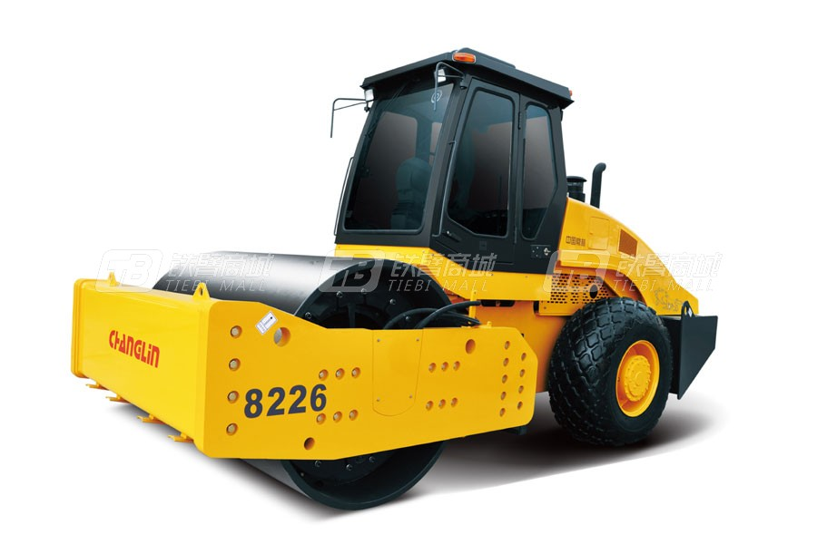 常林公司8226单钢轮压路机