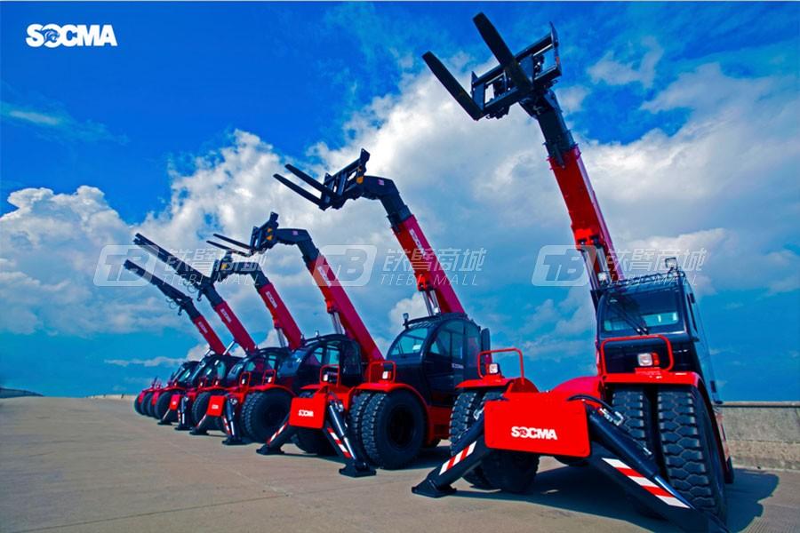 华南重工HNT50-2伸缩臂叉装机