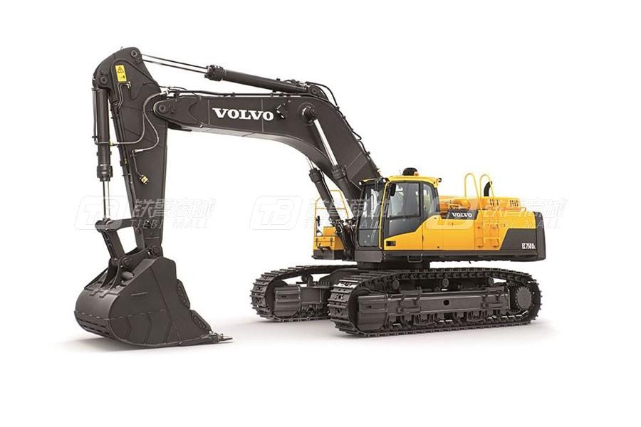 沃尔沃EC750D大型履带式挖掘机