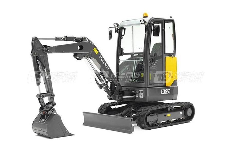 沃尔沃ECR25D小型挖掘机