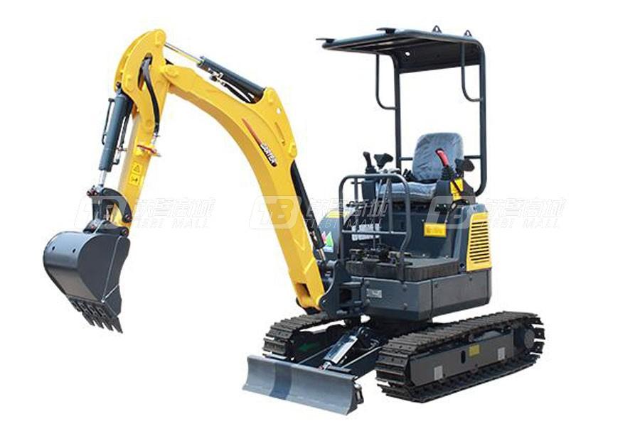卡特重工CT16-9B小型液压挖掘机