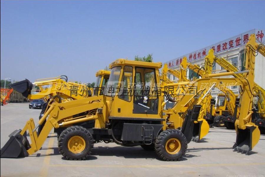 神娃SW40-15挖掘装载机