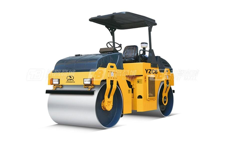 骏马YZC6/YZDC6双钢轮振动压路机/振动振荡压路机