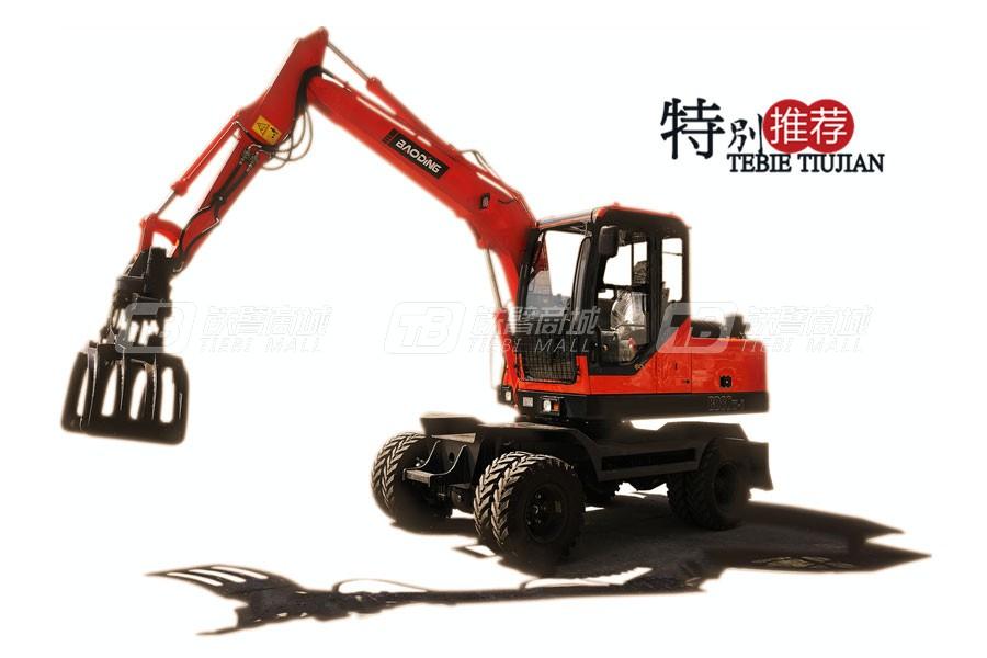 宝鼎BD80W-8轮式抓包机