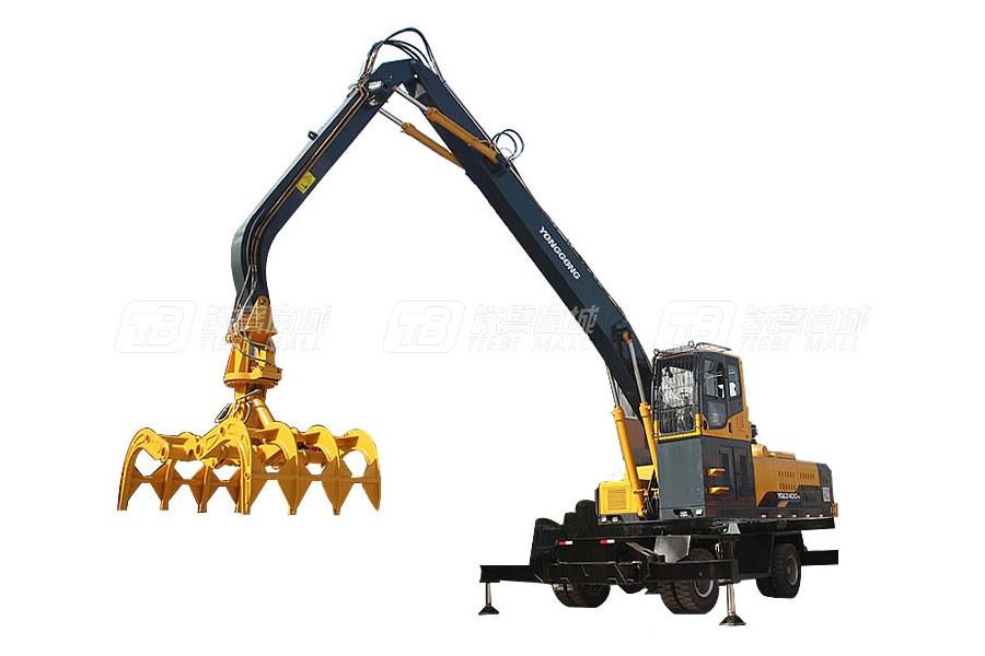 永工YGLZ400单动力抓木机
