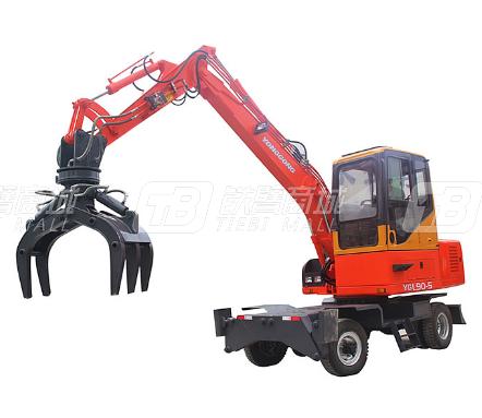 永工YGL90-5轮式抓木机
