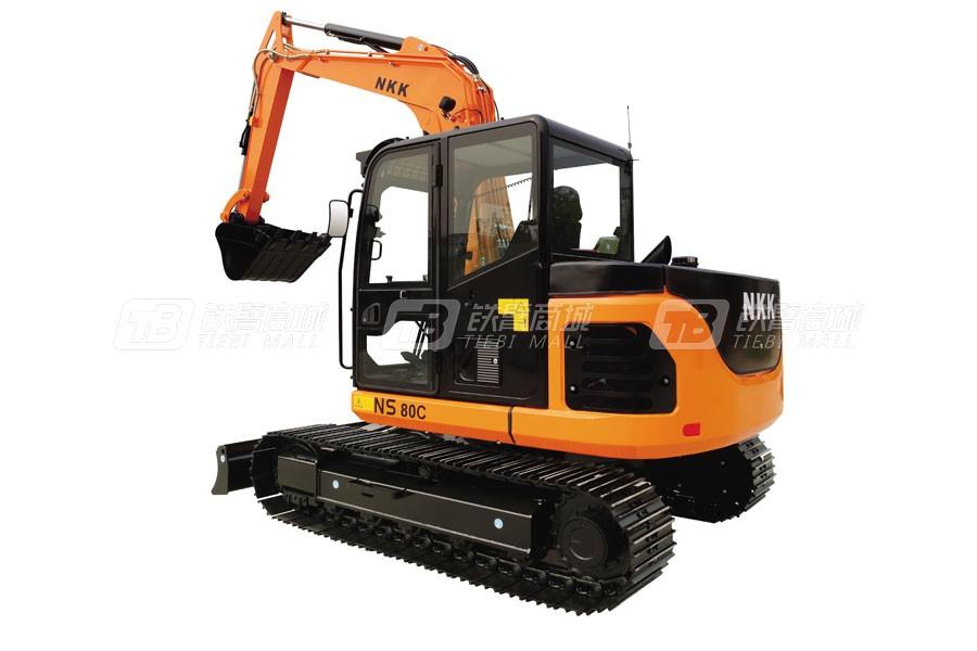 京城长野NS80C履带挖掘机