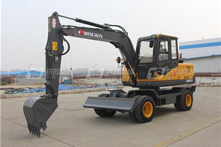沃尔华DLS885BLF-9M负载敏感轮式液压挖掘机