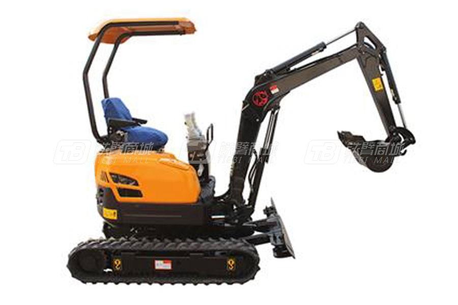 沃尔华DLS816-9B小型挖掘机