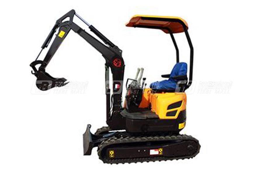 沃尔华DLS815-9B小型挖掘机