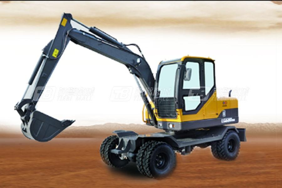 山东宝格EW680H轮式挖掘机
