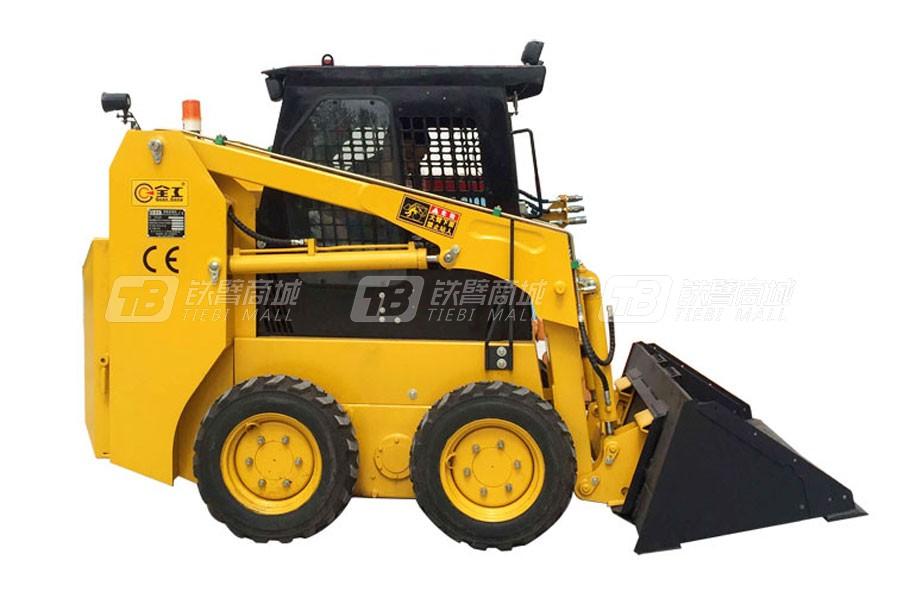 全工机械350滑移装载机