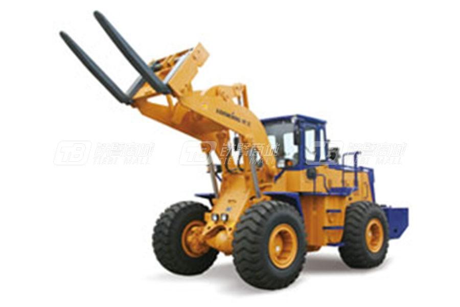 龙工CDM855W石料叉装机