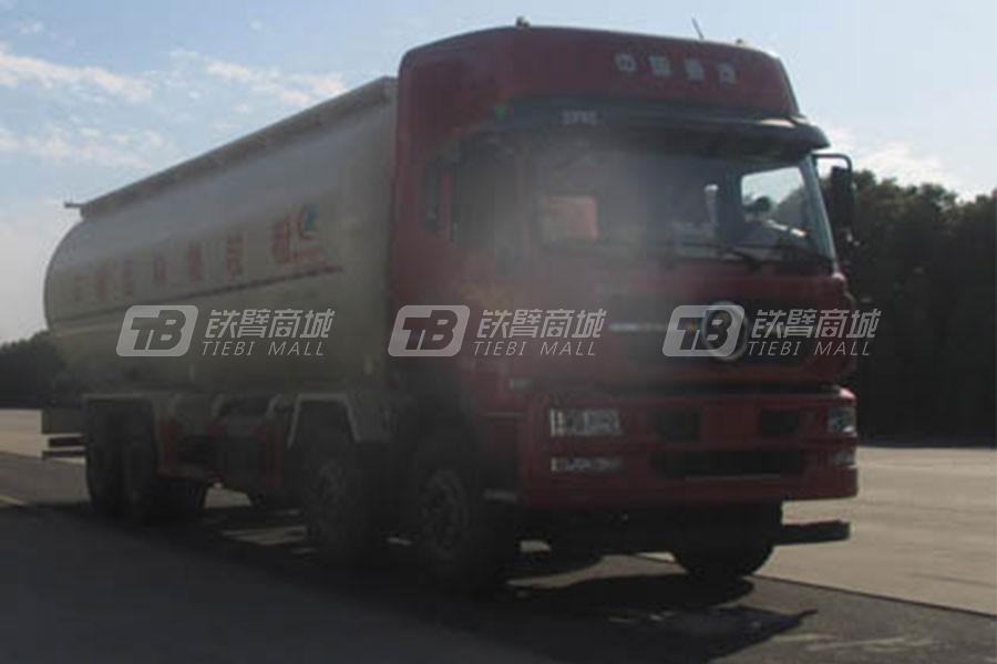 湖北合力程力威牌CLW5310GFLZ5型低密度粉粒物料运输车