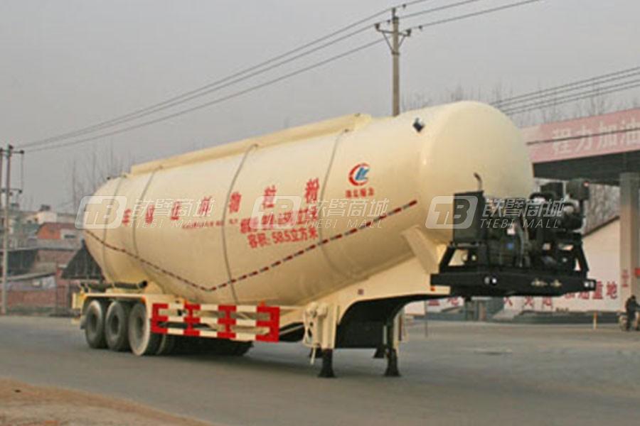 湖北合力CLW9401GFL程力威牌低密度粉粒物料运输半挂车