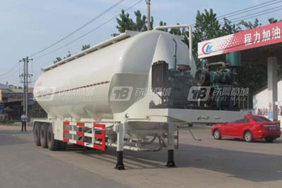 湖北合力CLW9405GFL程力威牌低密度粉粒物料运输半挂车