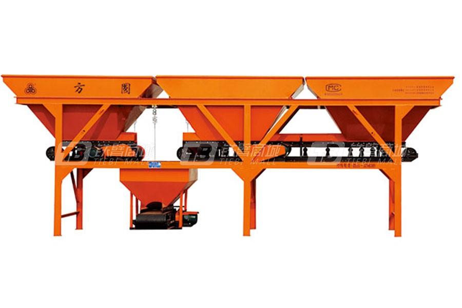 方圆PLD1200(三种料)用混凝土配料机
