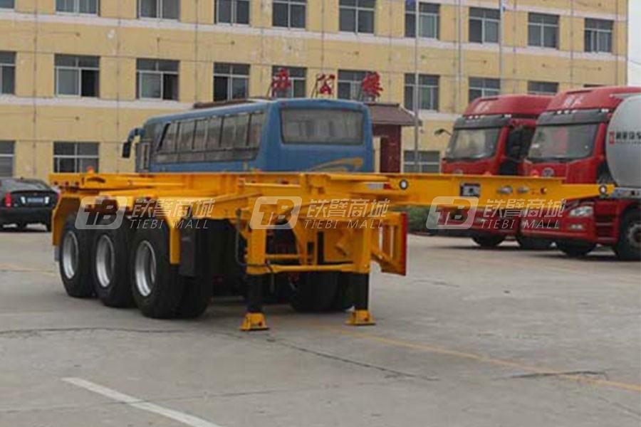 通亚汽车CTY9400TJZG20集装箱运输半挂车