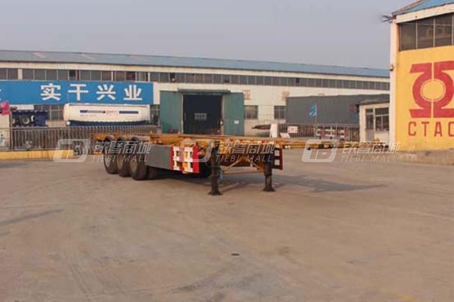 通亚汽车CTY9400TWY集装箱运输半挂车
