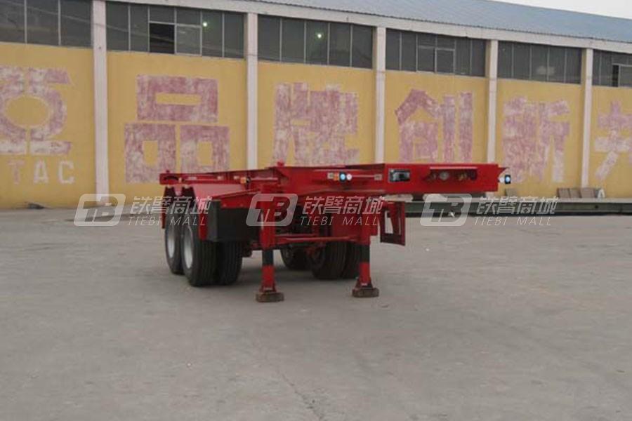 通亚汽车CTY9353TJZG集装箱运输半挂车