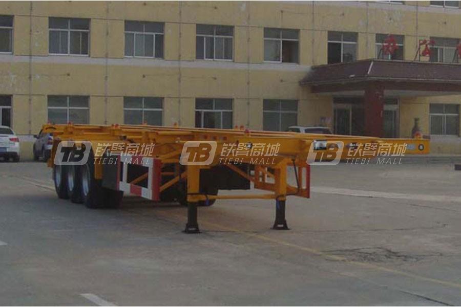通亚汽车CTY9350TJZG40集装箱运输半挂车