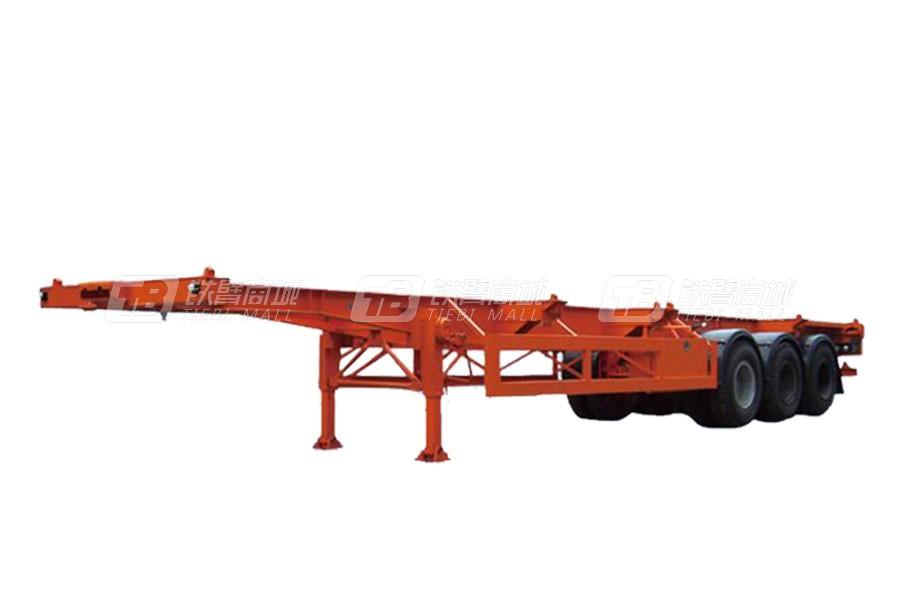 亚特重工TZ9370TJZG集装箱半挂车