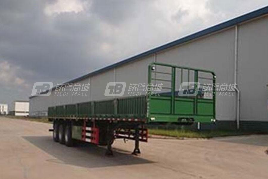 中国重汽QDZ9400LB栏板半挂车