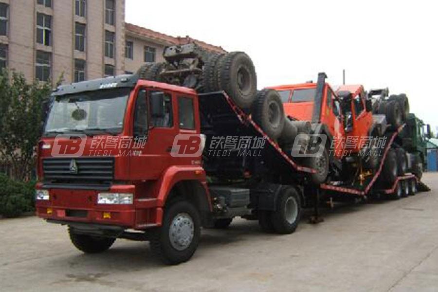 中国重汽QDZ9320TSCL商用车辆运输半挂车